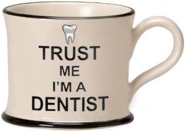 Moorland Mug Trust me I'm a Dentist